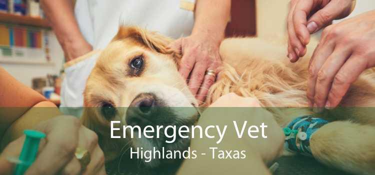 Emergency Vet Highlands - Taxas