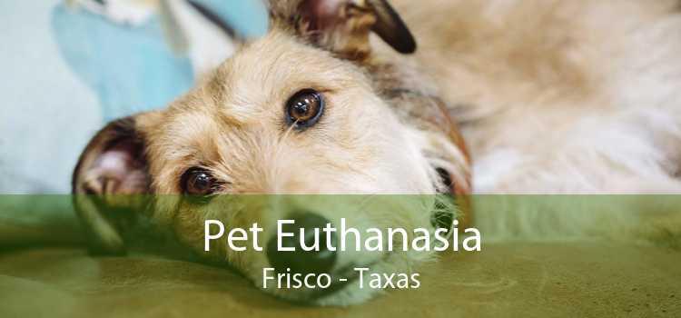 Pet Euthanasia Frisco - Taxas